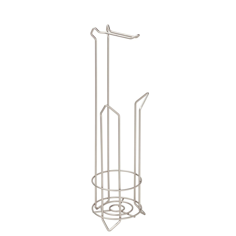 bath bliss vee tissue roll holder u0026 storage stand