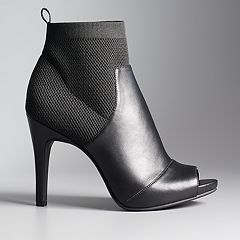 Simply Vera Vera Wang Manchester Women's High Heel Ankle Boots