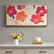 Madison Park Floral Fields Framed Canvas Wall Art