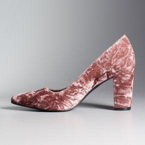 Simply Vera Vera Wang Prague Women's High Heels