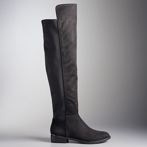 9598dfd89 Simply Vera Vera Wang Florence Women's Over The Knee Boots