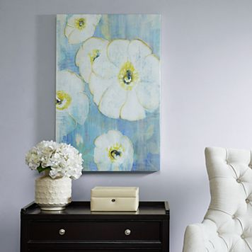 Madison Park A Floral Song Canvas Wall Art