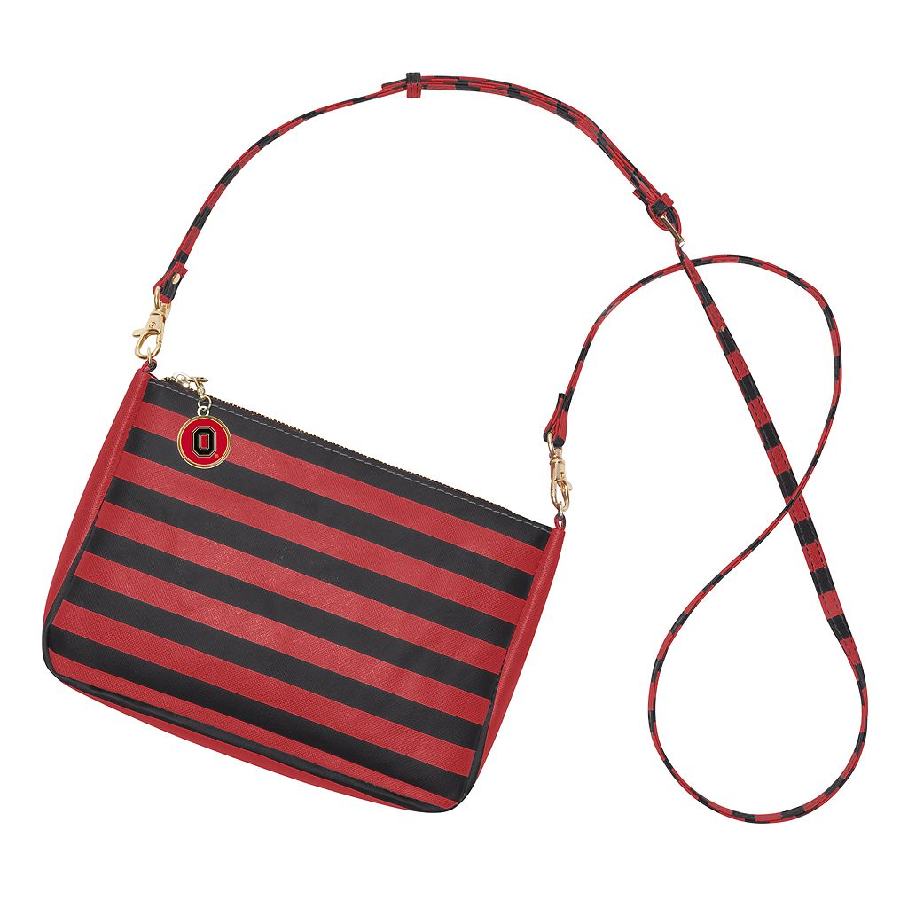 Lillybee Ohio State Buckeyes Reese Crossbody Bag