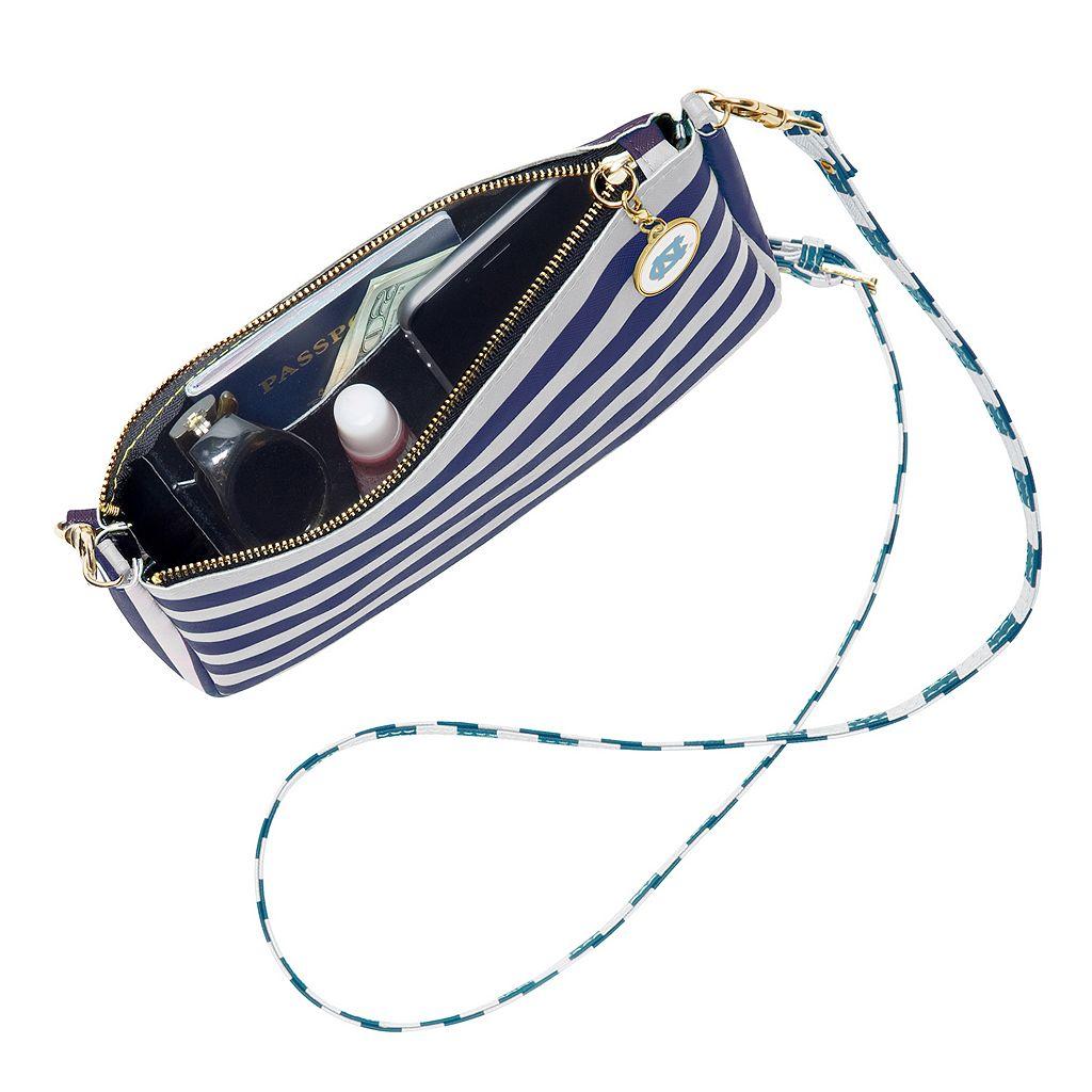 Lillybee North Carolina Tar Heels Reese Crossbody Bag