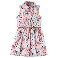 Girls 4-8 Carter's Shirt Dress