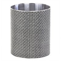 Bath Bliss Basketweave Wastebasket