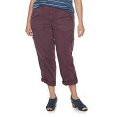 Plus Size SONOMA Goods for Life™ Twill Convertible Pants