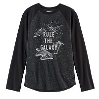 Boys 8-20 Star Wars: Episode VIII The Last Jedi Rule the Galaxy Tee