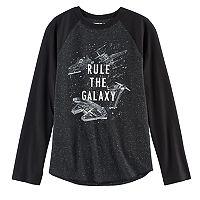 Boys 8-20 Star Wars: Episode VIII The Last Jedi Rule the Galaxy Tee