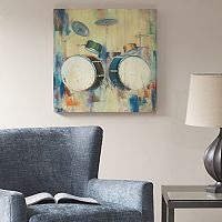 Madison Park Drum Set Canvas Wall Art