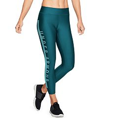 Women's Under Armour HeatGear Branded Ankle Leggings