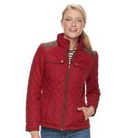Women's Weathercast Quilted Side-Stretch Jacket