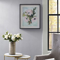 Madison Park Winter Bouquet 1 Framed Wall Art