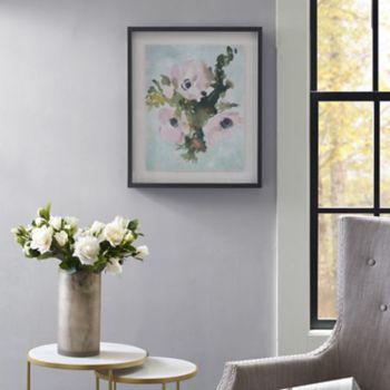 Madison Park Winter Bouquet 1 Framed Wall Art