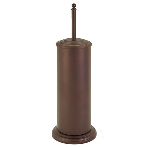 Bath Bliss Rustic Toilet Bowl Plunger & Storage Caddy