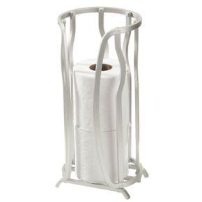 Bath Bliss Wave Tissue Roll Storage Stand