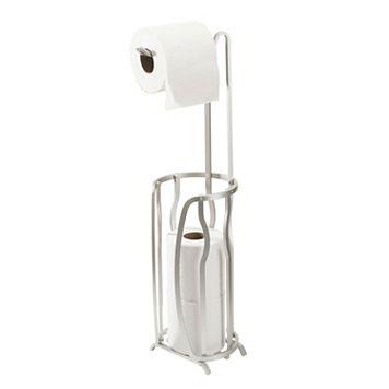Bath Bliss Dip Tissue Roll Holder & Storage Stand