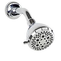 Bath Bliss 6-Function Deluxe Showerhead