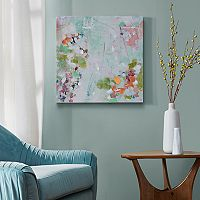 Urban Habitat Abstract Garden Canvas Wall Art