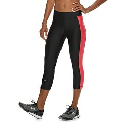Women's Under Armour HeatGear High Waisted Capri Leggings