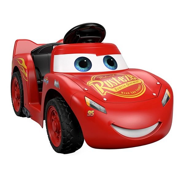 Disney Pixar Cars 3 Lil Lightning Mcqueen Ride On By Power Wheels