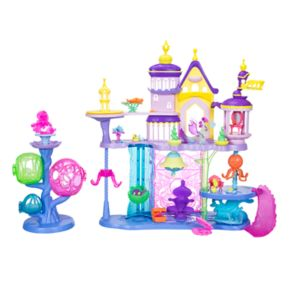My Little Pony: The Movie Canterlot & Seaquestria Castle Light-Up Tower Playset