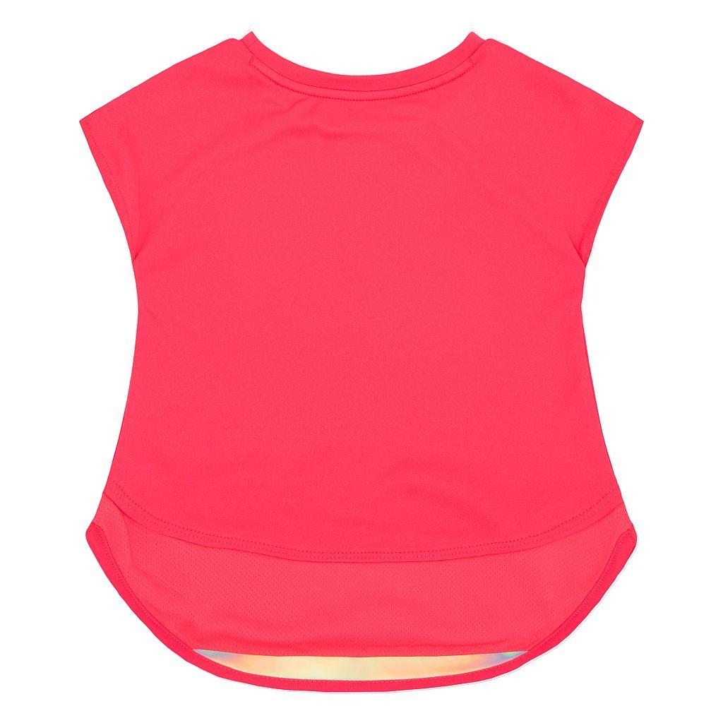 Toddler Girl Nike Dri-FIT Layered Tunic Top