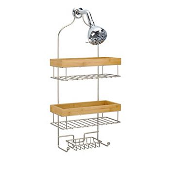 Laura Ashley Bamboo & Wire Shower Caddy