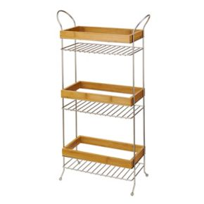 Laura Ashley Wire & Wood 3-Tier Spa Tower