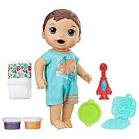 Baby Alive Super Snacks Snackin' Brunette Luke Baby Doll