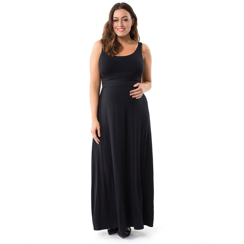 Plus Size Maternity Pip & Vine by Rosie Pope Maxi Dress
