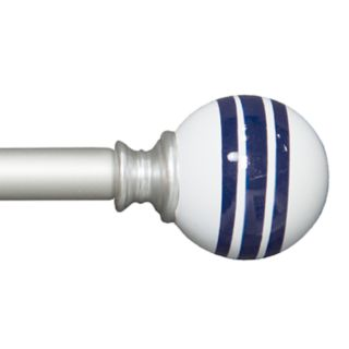 Bali Striped Decorative Curtain Rod