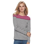 Women's Croft & Barrow® Crewneck Tee