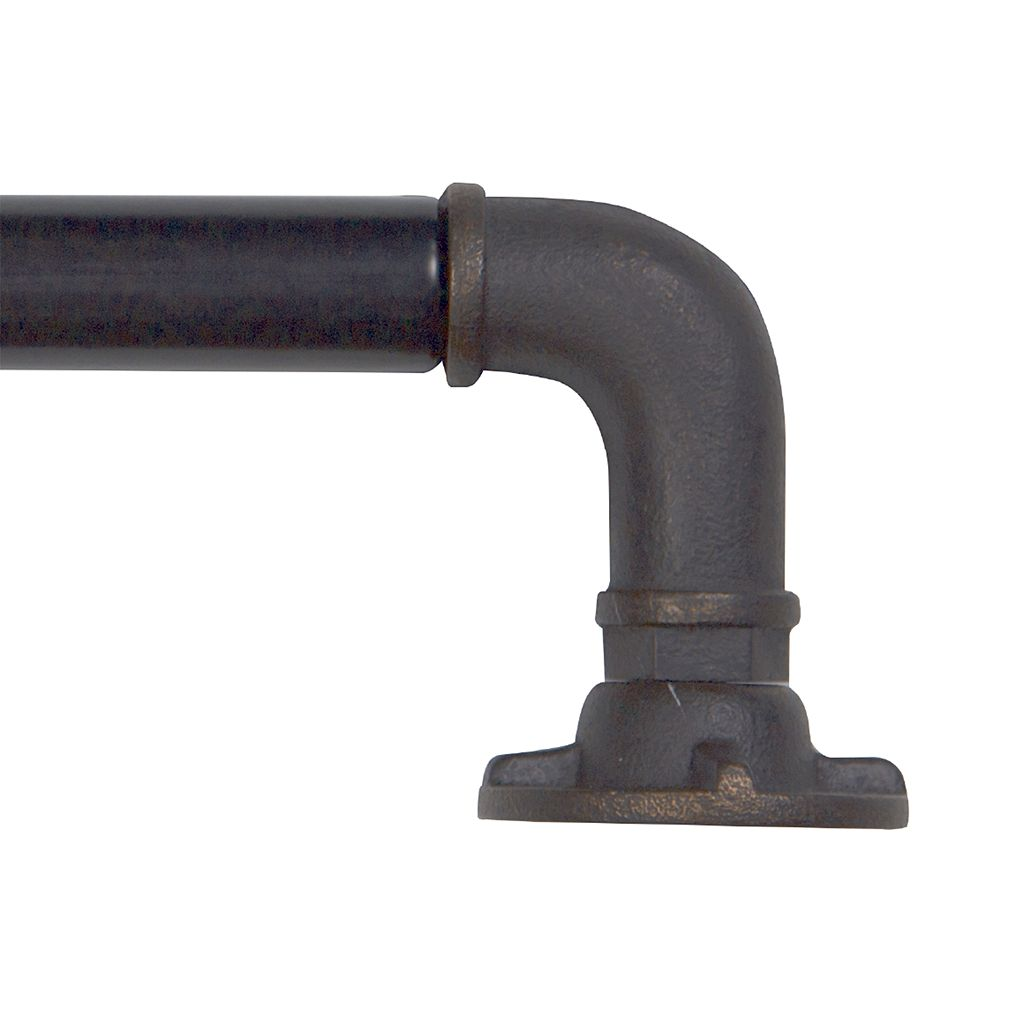 Bali Industrial Pipe Curtain Rod