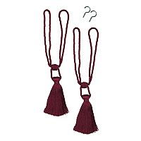 Bali Tassel 2-pack Curtain Tiebacks