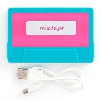 Mixtape Portable Phone Charger