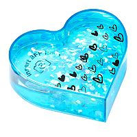 Floating Glitter Heart Picture Frame
