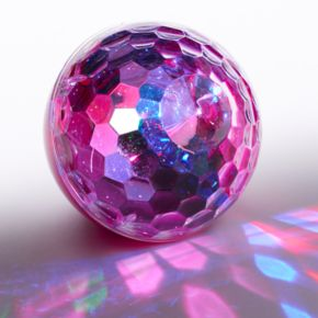 Bluetooth Disco Ball Light-Up Speaker