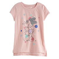 Disney's Minnie Mouse Toddler Girl Slubbed Graphic Tee by Jumping Beans®