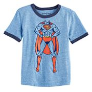 Toddler Boy Jumping Beans® DC Comics Superman Ringer Graphic Tee