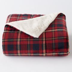 red blankets & throws - bedding, bed & bath | kohl's
