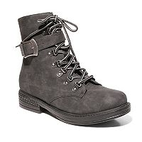 2 Lips Too Too Ray Women's Combat Boots
