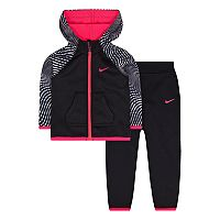 Toddler Girl Nike Zip-Up Hoodie & Pants Set