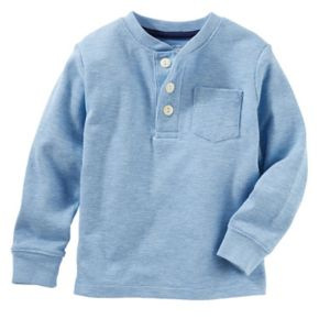 Toddler Boy OshKosh B'gosh® Raglan Henley Tee