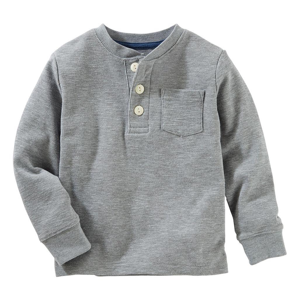 Toddler Boy OshKosh B'gosh® Raglan Henley Tee