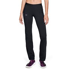 Women's Under Armour Favorite Mid-Rise Straight-Leg Workout Pants