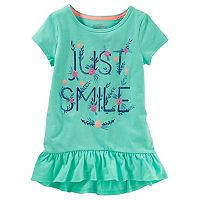 Toddler Girl OshKosh B'gosh® Ruffled Tunic Top