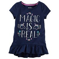 Toddler Girl OshKosh B'gosh® Ruffled Tunic Top