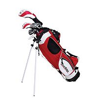 Boys Age 5-8 Tour Edge HT Max-J Junior Left Hand 4x1 Golf Club & Bag Set