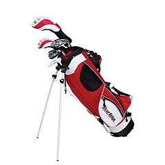 Boys Age 9-12 Tour Edge HT Max-J Junior Right Hand 4x1 Golf Club & Bag Set